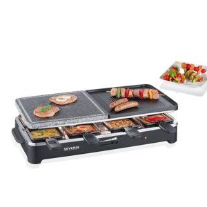 Raclette Grill mit Steinplatte 1
