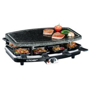 Raclette Grill mit Steinplatte 2