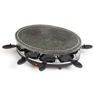 Raclette Grill mit Steinplatte 42