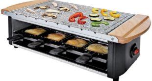 Raclette Grill mit Steinplatte 5