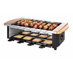 Raclette Grill mit Steinplatte 51