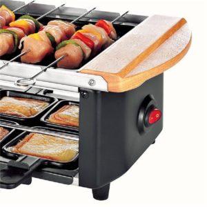 Raclette Grill mit Steinplatte 52
