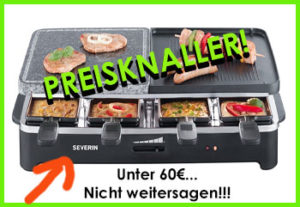 raclette grill klicker ready