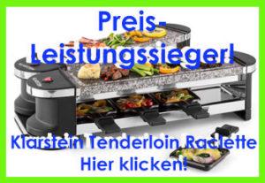 raclette grill test klicker 1